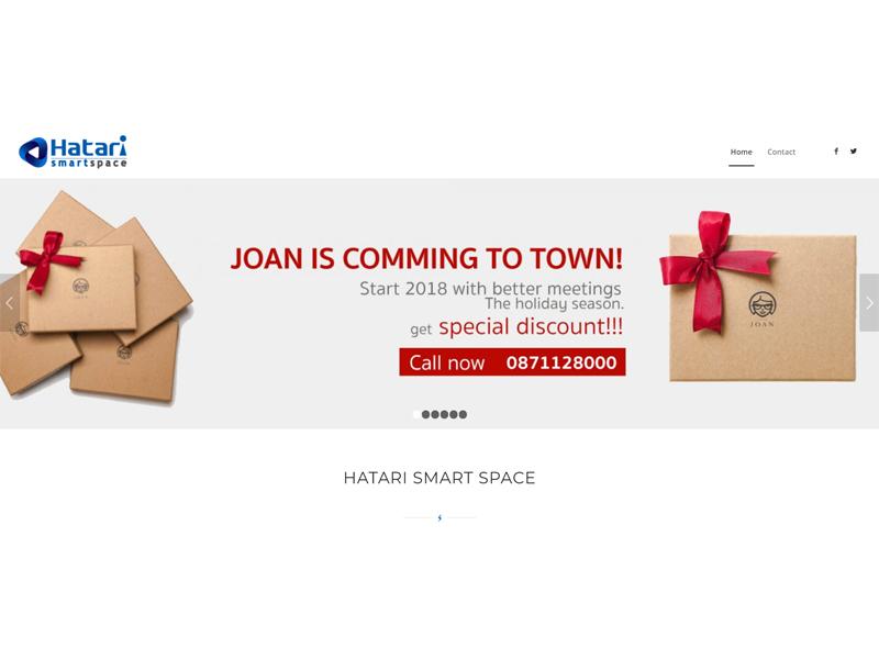 Hatari Wireless Co., Ltd. งานพัฒนาเว็บไซต์